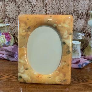 Super Cute Cherub Picture Frame